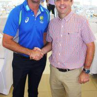 Dave Ward with Greg